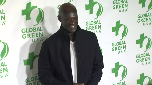vídeos y material grabado en eventos de stock de peter mensah at global green usa's 10th annual preoscar party on 2/20/13 in los angeles ca - fiesta de los óscar