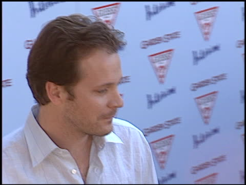 peter sarsgaard at the 'garden state' premiere at dga directors guild in los angeles, california on july 20, 2004. - アメリカ監督組合点の映像素材/bロール