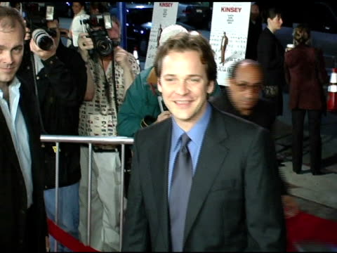 Peter Sarsgaard at the 'Kinsey' Premiere Arrivals at the Mann Village Theatre in Westwood California on November 8 2004