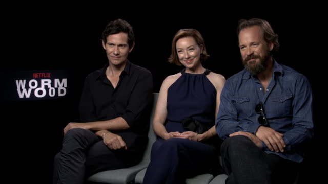 INTERVIEW Peter Sarsgaard Molly Parket Christian Camargo on on working with Errol Morris 'Wormwood' Interviews 74th Venice International Film...
