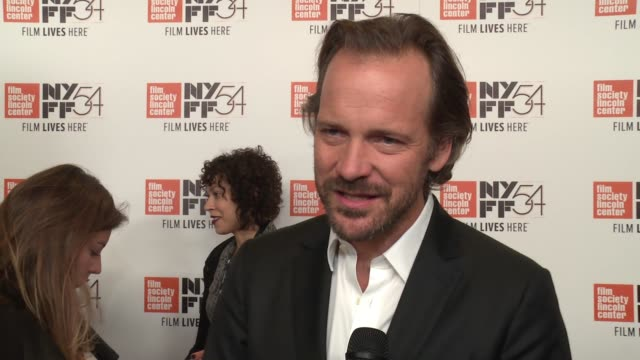 vídeos y material grabado en eventos de stock de peter sarsgaard on what this movie asks of the viewer, new insights on his character, bobby kennedy, as he studied him for the film, on grief, on... - peter sarsgaard