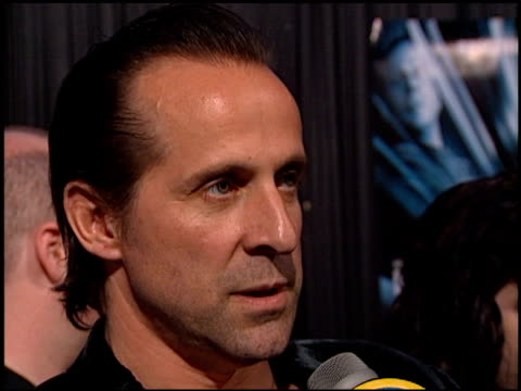 Peter Stormare at the 'Mercury Rising' Premiere at Academy Theater in Beverly Hills California on April 1 1998