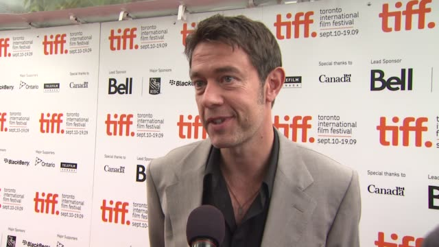 Peter Straughn on how it feels to be premiering at TIFF why he thought it was a good story to tell if he was aware of these unusual techniques before...