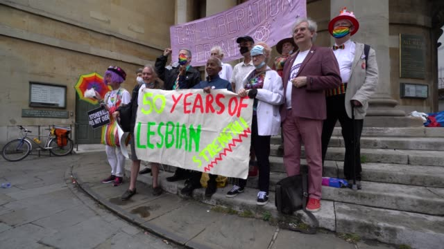 GBR: 50th Anniversary of the Gay Liberation Front March