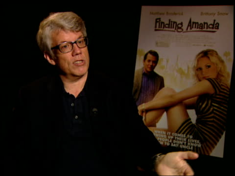 peter tolan jokes that matthew broderick is a terrible actor and that he didn't want him to play the part says matthew broderick nailed the part... - matthew broderick stock videos & royalty-free footage