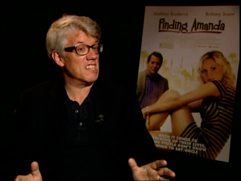 peter tolan on directing his first feature film, how it's scarier because unlike television he only gets one shot to get it right. at the finding... - directing stock videos & royalty-free footage