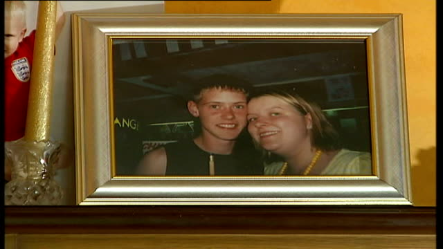 Fiancee speaks out Bowden interview SOT Nightmare of losing Peter and dad becoming ill Framed photo of Woodhams and Bowden on mantelpiece Bowden...