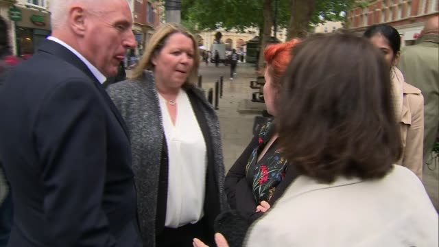 labour wins seat uk peterborough / london lisa forbes mp interview people along in peterborough city centre brandon lewis mp interview jeremy corbyn... - nachwahl stock-videos und b-roll-filmmaterial