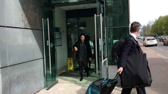 Peterborough MP Fiona Onasanya leaves Cambridge County Court A discrimination case brought by a former case worker was dismissed