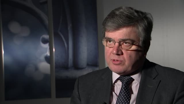 Peterborough prison criticised by inspectors ENGLAND London Westminster INT Peter Clark interview SOT Peterborough HM Prison Peterborough EXT 'This...