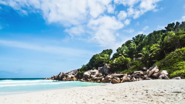 Petite Anse Timelapse in Seychelles - La Digue Island