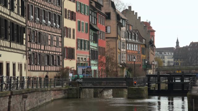 Petite France, Ill River, Grande Ile, UNESCO World Heritage Site, Strasbourg, Alsace, Grand Est, France, Europe