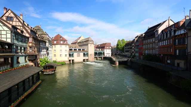 vidéos et rushes de petite france strasbourg - strasbourg
