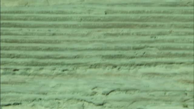 petra archaeological site and amphitheatre, jordan - アラバ砂漠点の映像素材/bロール