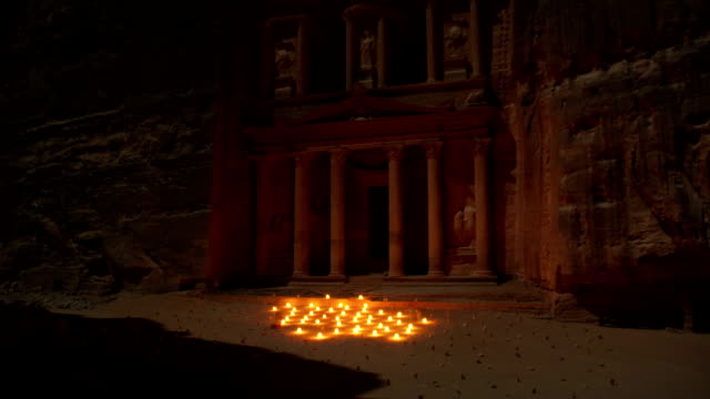 Petra at by Night.