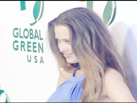 petra nemcova and james blunt at the 3rd annual pre-oscar party hosted by global green usa on february 21, 2007. - oscar party stock videos & royalty-free footage