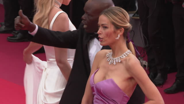 GIF Petra Nemcova at 'A Hidden Life' Red Carpet Arrivals The 72nd Cannes Film Festival at Palais des Festivals on May 19 2019 in Cannes France