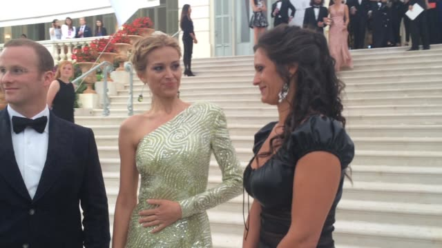 Petra Nemcova at amfAR 22nd Cinema Against AIDS Reception at Hotel du CapEdenRoc on May 21 2015 in Cap d'Antibes France