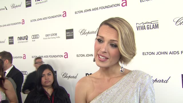 INTERVIEW Petra Nemcova at Elton John AIDS Foundation Presents 21st Annual Academy Awards Viewing Party Sponsored By Chopard Neuro Drinks And Wells...