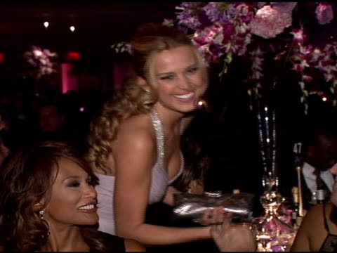 petra nemcova at the denise rich marks 10th year of the gp foundation with an evening of stars and music at the 2007 angel ball at marriott marquis... - marriott marquis new york stock videos & royalty-free footage