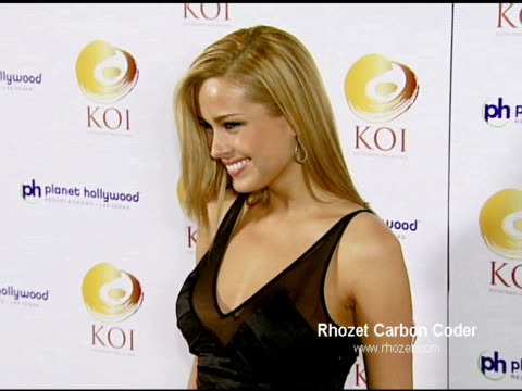 Petra Nemcova at the KOI Las Vegas Grand Opening at Planet Hollywood in Las Vegas Nevada on November 9 2007