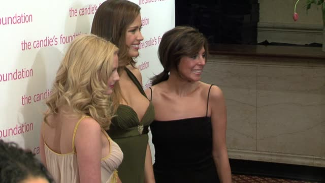 petra nemcova, jamie-lynn sigler, and lydia hearst at the the candie's foundation presents the third annual event to prevent gala at gotham hall in... - jamie lynn sigler stock videos & royalty-free footage