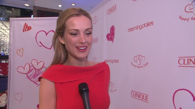 petra nemcova on the happy hearts fund at petra nemcova celebrates a new partnership with clinique and her global charity, happy hearts fund at... - charity and relief work stock videos & royalty-free footage