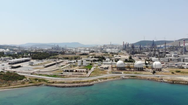 petrol refinery - middle east stock videos & royalty-free footage