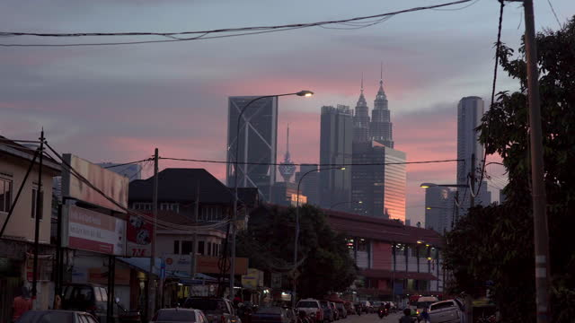 petronas twin towers / kuala lumpur, malaysia - petronas twin towers stock videos & royalty-free footage