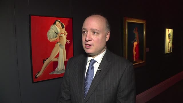phallic furniture, graphic ancient roman sculptures and hardcore photographs are among the new exhibits on show at london's sotheby's auction house... - asta oggetto creato dall'uomo video stock e b–roll