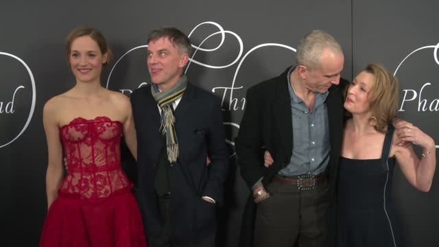 CHYRON 'Phantom Thread' New York Premiere Presented by Focus Features and Annapurna Pictures at Harold Pratt House on December 11 2017 in New York...