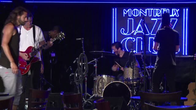 pharell williams chris rea and stevie wonder are just a few of the big names to grace the 48th montreux jazz festival which opens friday - montreux stock videos & royalty-free footage