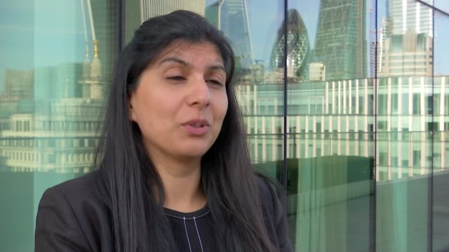 ith pharma charged with supplying contaminated medical products to premature babies uk london arti shah interview / st thomas' hospital london ext... - richard pallot stock-videos und b-roll-filmmaterial