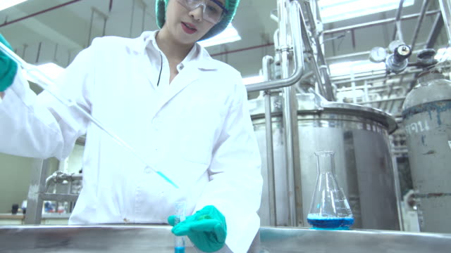 Pharmaceutical Female Workers