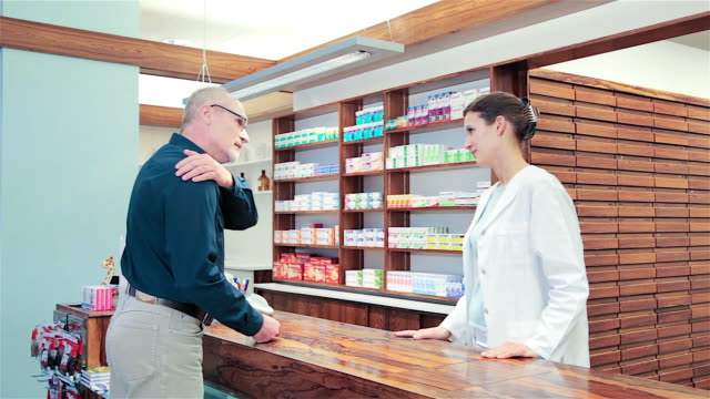pharmacy, munich, germany - apotheke stock-videos und b-roll-filmmaterial
