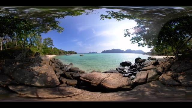 360VR 4K Phi phi Island at Thailand