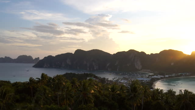 Phi Phi island in Krabi Thailand.