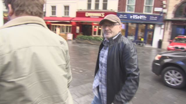phil collins at celebrity sightings in london on january 26, 2016 in london, england. - phil collins stock videos & royalty-free footage