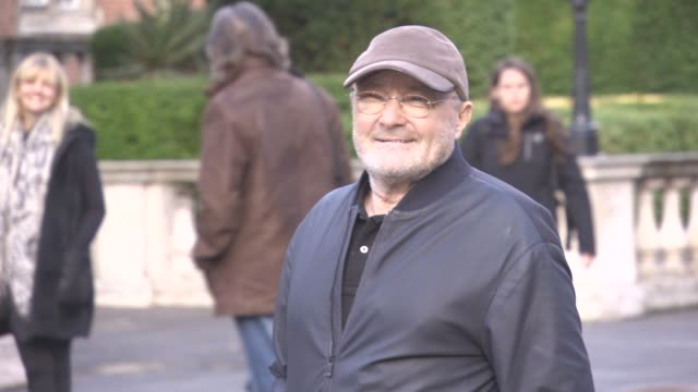 phil collins at phil collins not dead yet live on october 17 2016 in london england - phil collins stock videos & royalty-free footage