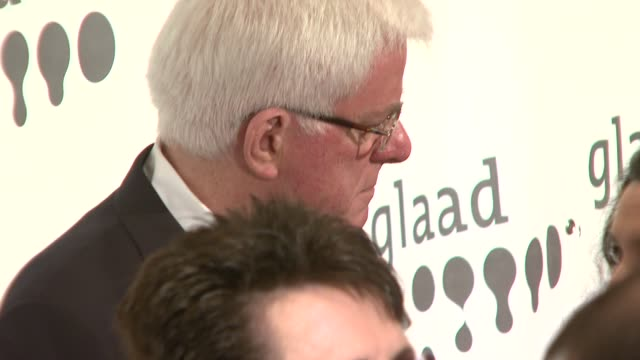 Phil Donahue and Billie Jean King at the 18th Annual GLAAD Media Awards at Marriot Marquis in New York New York on March 26 2007