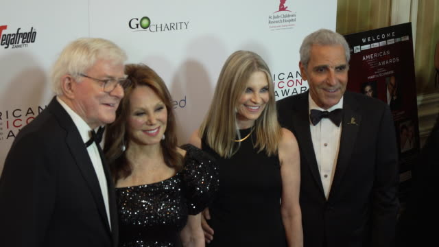 Phil Donahue and Marlo Thomas at The American Icon Award at Regent Beverly Wilshire Hotel on May 19 2019 in Beverly Hills California