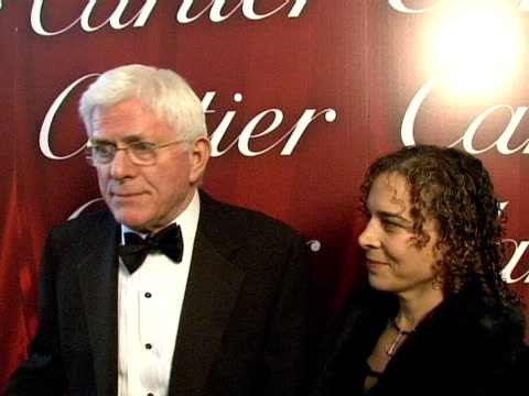 Phil Donahue at the 2008 Palm Springs International Film Festival Hosts StarStudded Awards Gala Presented By Cartier Red Carpet Arrivals at Palm...