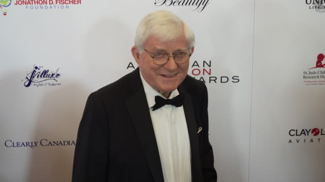 Phil Donahue at The American Icon Award at Regent Beverly Wilshire Hotel on May 19 2019 in Beverly Hills California