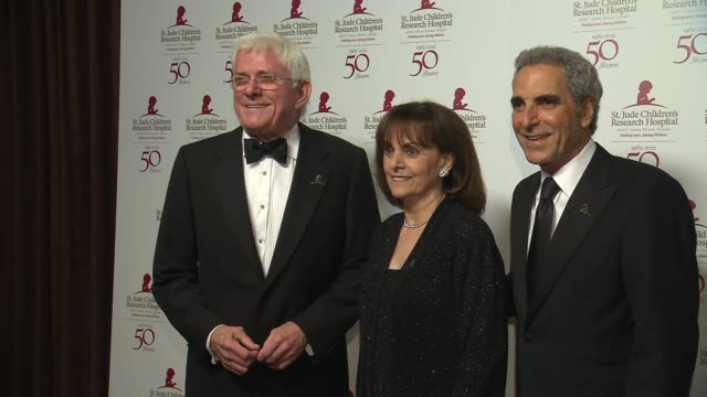 Phil Donahue Terre Thomas Tony Thomas at St Jude Children's Research Hospital 50th Anniversary Gala Benefit on 1/7/2012 in Beverly Hills CA
