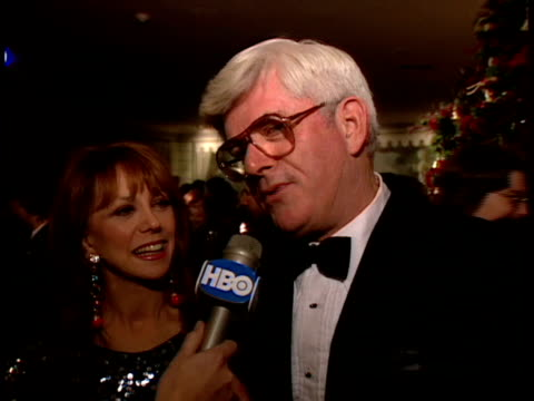 Phil Donahue with Marlo Thomas says the film was a great recreation of a dramatic moment in the history of psychiatry