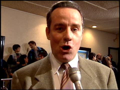 phil hartman at the 'greedy' premiere at the bruin theatre in westwood california on february 22 1994 - phil hartman stock videos and b-roll footage