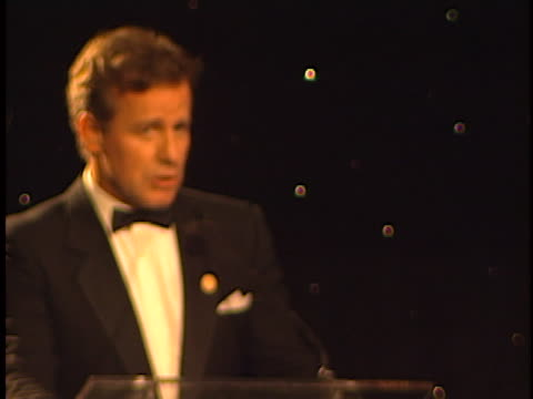 phil hartman at the one giant leap for mankind benefit at museum of flying santa monica airport - phil hartman stock videos and b-roll footage
