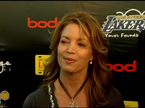 Phil Jackson / Jeanie Buss on the event the foundation how the event started what they hope to accomplish and raise at the event at the LA Lakers 3rd...