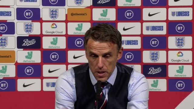 phil neville insisted he takes full responsibility for england women's 21 defeat to germany in front of a recordbreaking crowd at wembley an... - record breaking stock videos & royalty-free footage