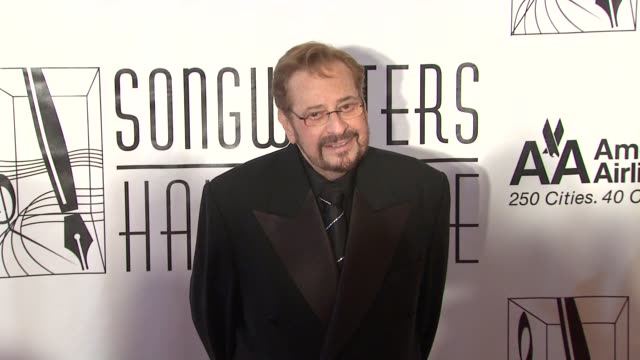 phil ramone at the songwriters hall of fame 2010 annual awards gala at new york ny - hall of fame stock videos and b-roll footage